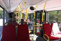 Die Grünen wollen den Busverkehr im ÖPNV stärken. Foto: cg