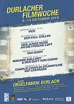 Durlacher Filmwoche 2019
