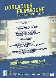 5. Durlacher Filmwoche 2019. Grafik: pm