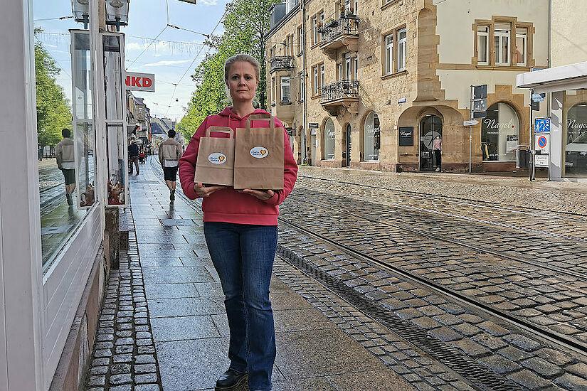 #DuFürDurlach – Die Durlacher-Muttertags-Überraschungs-Tüte. Foto: om