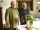 Günter Meier und  Prof. Dr. Ing. Jürgen Schmidt