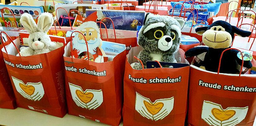 """Aktion """"Freude schenken"""". Foto: pm"""