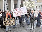 Demo gegen geplantes KSC-Stadion (21. April 2009)