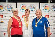 Zwei Silbermedaillen für die DLRG in Down Under. Foto: pm
