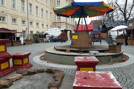 """25 Mittelalterlicher Weihnachtsmarkt (Aufbau) - Am Dienstag ist es soweit: Der Mittelalterliche Weihnachtsmarkt eröffnet! Heute hieß es deshalb """"Endspurt"""" beim Aufbau. (17 Fotos)"""
