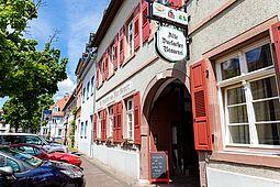 Alte Durlacher Brauerei in der Ochsentorstraße – Außenansicht. Foto: cg