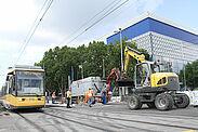 Haltestelle am Weinweg geht in Betrieb. Foto: pia