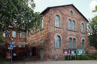 Orgelfabrik in Durlach: Das beliebte Planetarium, das im Juni und Juli dort hätte stattfinden sollen, wurde bereits abgesagt. Foto: cg