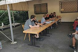 Mitgliederversammlung der ARGE Durlacher und Auer Vereine. Foto: om