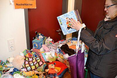 """11. Durlacher Kommissionsflohmarkt """"Alles vom Baby bis zum Kind"""". Foto: om"""