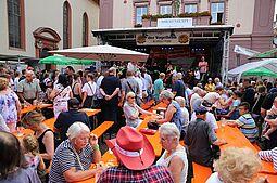43. Durlacher Altstadtfest – Eröffnung. Foto: cg