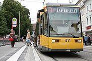 Freie Fahrt am verkaufsoffenem Sonntag in Karlsruhe und Durlach. Foto: cg