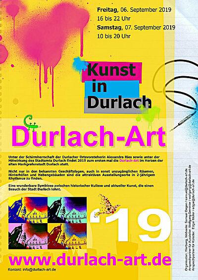 Vorankündigung zur Durlach-Art. Grafik: pm