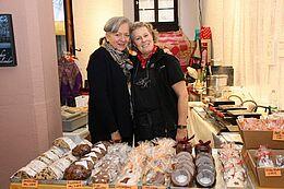 Christiane Fröhlich und Roswitha Kehrle. Foto: om