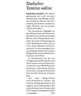 Boulevard Baden - Ausgabe Durlach und Umgebung | 27. Dezember 2009