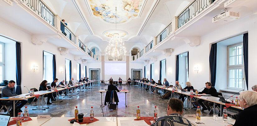 Ortschaftsrat Durlach: Sitzung in der Karlsburg. Foto: cg