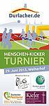Menschen-Kicker-Turnier 2013 | Flyer