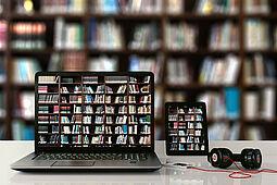 """Mit dem """"Digitalen Schnupperausweis"""" können alle digitalen Medien der Stadtbibliothek ausprobiert und genutzt werden (Symbolbild). Foto: Gerd Altmann/Pixabay"""