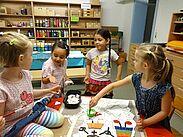 "Kindergarten ""Am Basler Tor"" mit neuem Mosaik-Logo. Foto: pm"