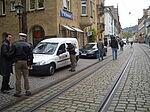 Bis zu 250 Fahrzeuge passierten täglich die Pfinztalstraße.