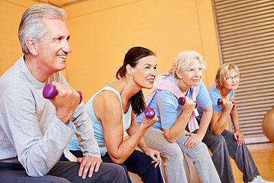 Mit Bewegung Osteoporose vorbeugen. Foto: Panthermedia