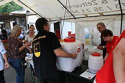 Kann leider nicht stattfinden: Hansa-Fest in Aue. Foto: om