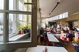 Schulunterricht in Corona-Zeiten – hier an der Pestalozzischule Durlach. Foto: cg