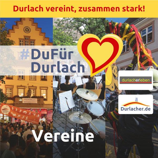 #DuFürDurlach: Gemeinsam die Durlacher Vereinswelt unterstützen
