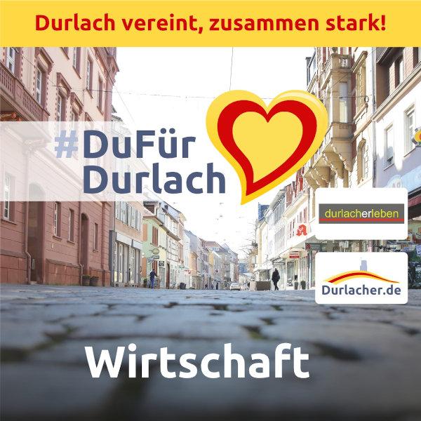 #DuFürDurlach: Gemeinsam die Durlacher Geschäfte und Unternehmen unterstützen