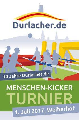 Menschen-Kicker-Turnier von Durlacher.de