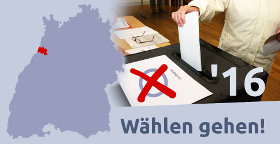 Wählen gehen! Grafik: cg