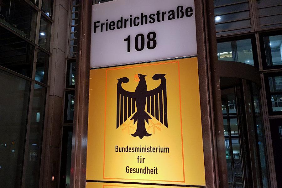 Berlin Gesundheitsministerium