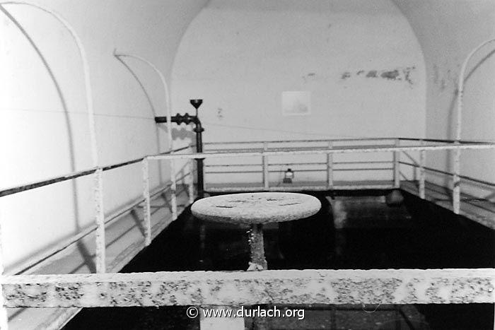 Innenansicht des Brunnenhauses. Foto: Günter Heiberger / DURLACH.ORG