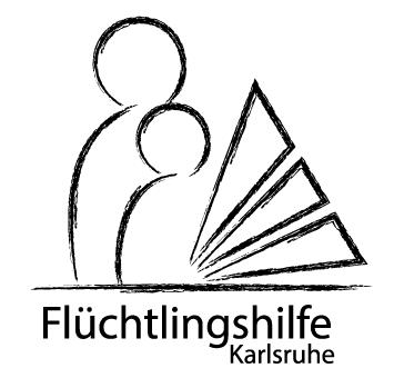 Flüchtlingshilfe Karlsruhe. Grafik: pm
