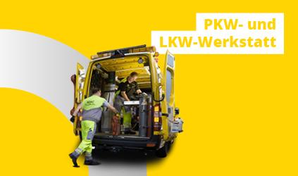 PKW- und LKW-Werkstatt