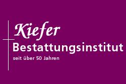 Beerdigungsinstitut Kiefer GmbH. Grafik: pm